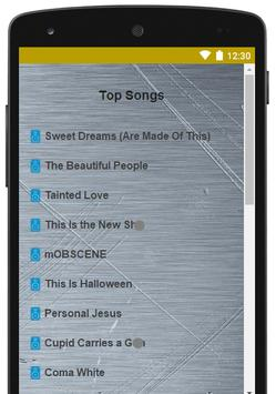 Best Of Marilyn Manson Lyrics screenshot 1