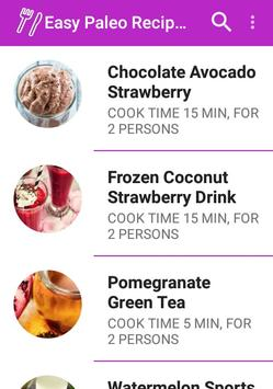 Easy Paleo Recipes For Woman apk screenshot