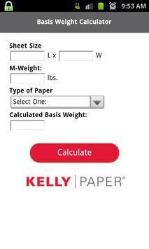 Kelly Paper Basis Weight Calc apk screenshot