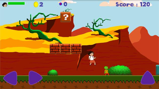 Angry Little Girl Running screenshot 3