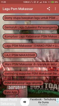 Lagu PSM Makassar poster