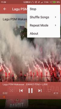 Lagu PSM Makassar screenshot 1