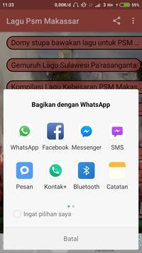 Lagu PSM Makassar screenshot 2