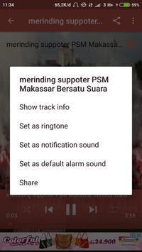 Lagu PSM Makassar screenshot 4