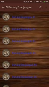 mp3 Burung Branjangan apk screenshot