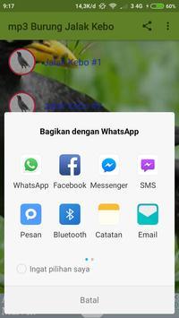 mp3 Burung Jalak Kebo screenshot 3