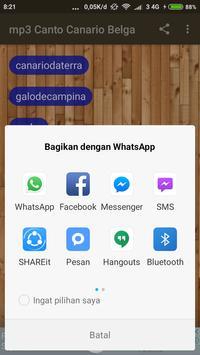 mp3 canto canario belga apk screenshot
