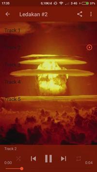 mp3 Suara Ledakan screenshot 1