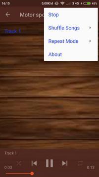 Ringtone Motor Sport apk screenshot