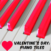Valentine's Day: Piano Tiles icon