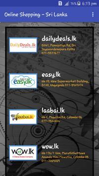 Online Shopping Sri Lanka poster