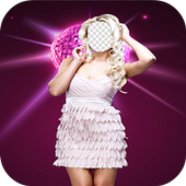 Girls Party Photo Maker icon