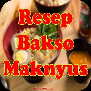Resep Bakso Maknyuss Nikmat poster