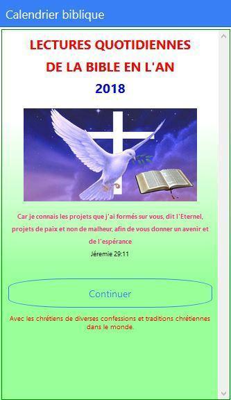 Calendrier Biblique.Calendrier Biblique 2019 For Android Apk Download