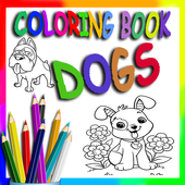 Coloring Book - Cute Dogs icon