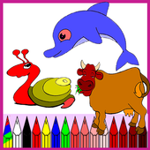 Coloring Book Free icon