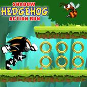 The Shadow Hedgehog Action Run icon