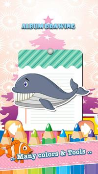 Sea Animals Coloring Book apk screenshot