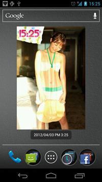 LovelyTime Beauty Clock Widget apk screenshot