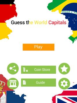 Guess the World Capitals apk screenshot