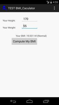 High-Tech KenTan BMI Calc poster