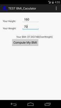 High-Tech KenTan BMI Calc screenshot 1