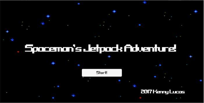 Spaceman's Jetpack Adventure! poster