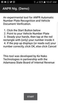 Automatic Number Plate Recognition App poster