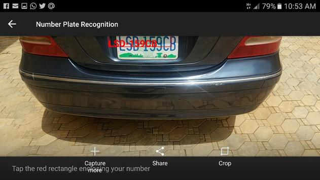 Automatic Number Plate Recognition App screenshot 1