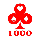 1000 (Thousand) Card game online and offline icon