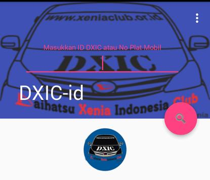 DXIC ID poster