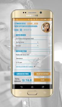 Liebre courier express screenshot 4