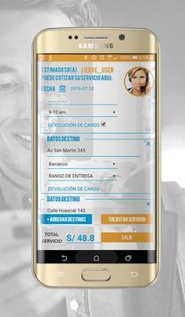 Liebre courier express screenshot 5