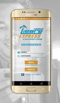 Liebre courier express screenshot 2