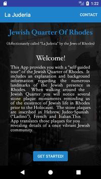 Jewish Quarter Of Rhodes poster