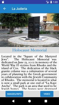 Jewish Quarter Of Rhodes apk screenshot