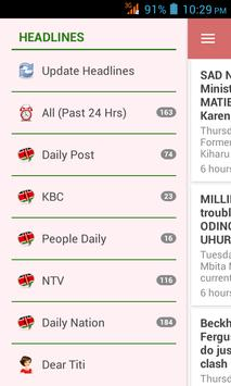 Kenya News App poster