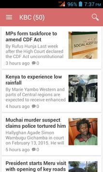 Kenya News App screenshot 1