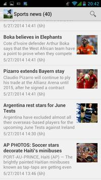 Kenya news apk screenshot