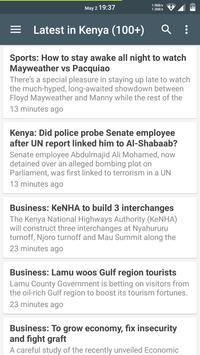Kenya Latest News poster