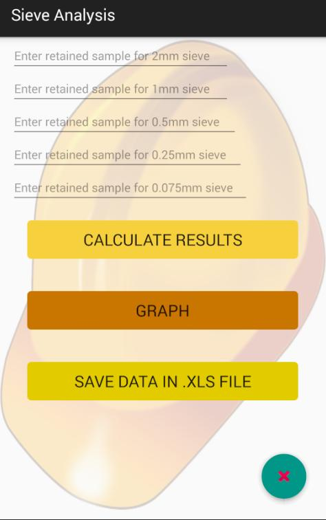 Sieve Analysis for Android - APK Download
