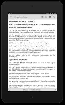 Kenya Constitution screenshot 9
