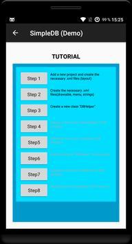 SQLite Database Tutorial (Demo) poster