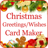 Christmas Greetings Card Maker icon