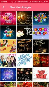 New Year Images & Greetings / SMS / Wishes screenshot 1