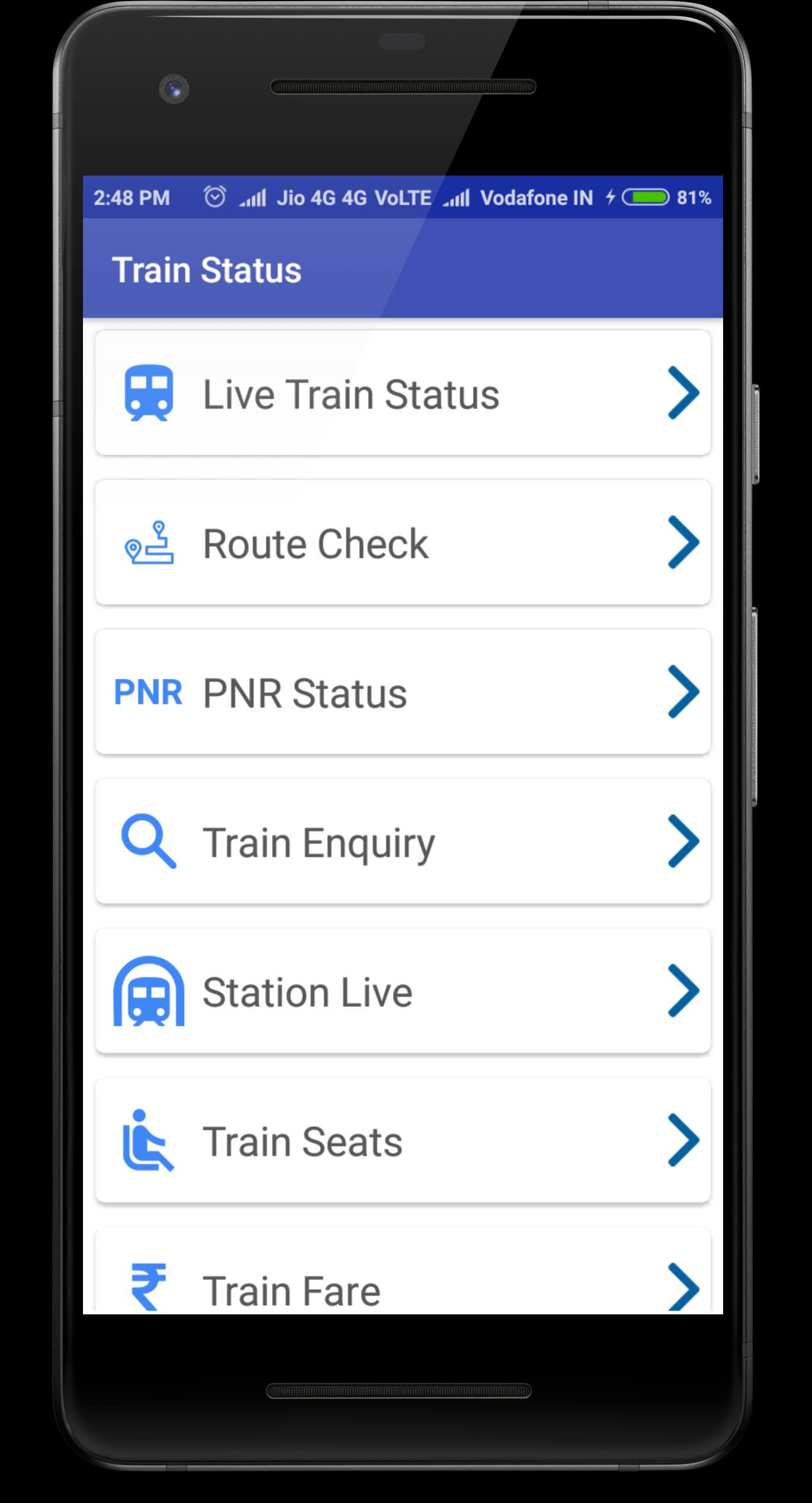 Live Train Status for Android - APK Download