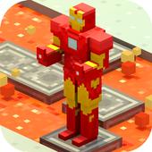 Crossy Robot: Combine Skins icon