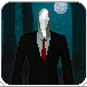 Slender Pixel Man ícone