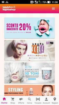 Beauty&Co & Keproshop poster