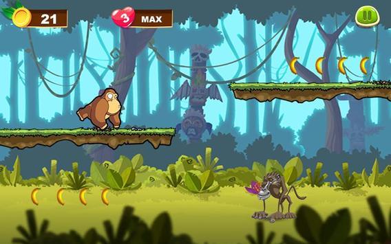 Benji Kong Banana Adventure apk screenshot